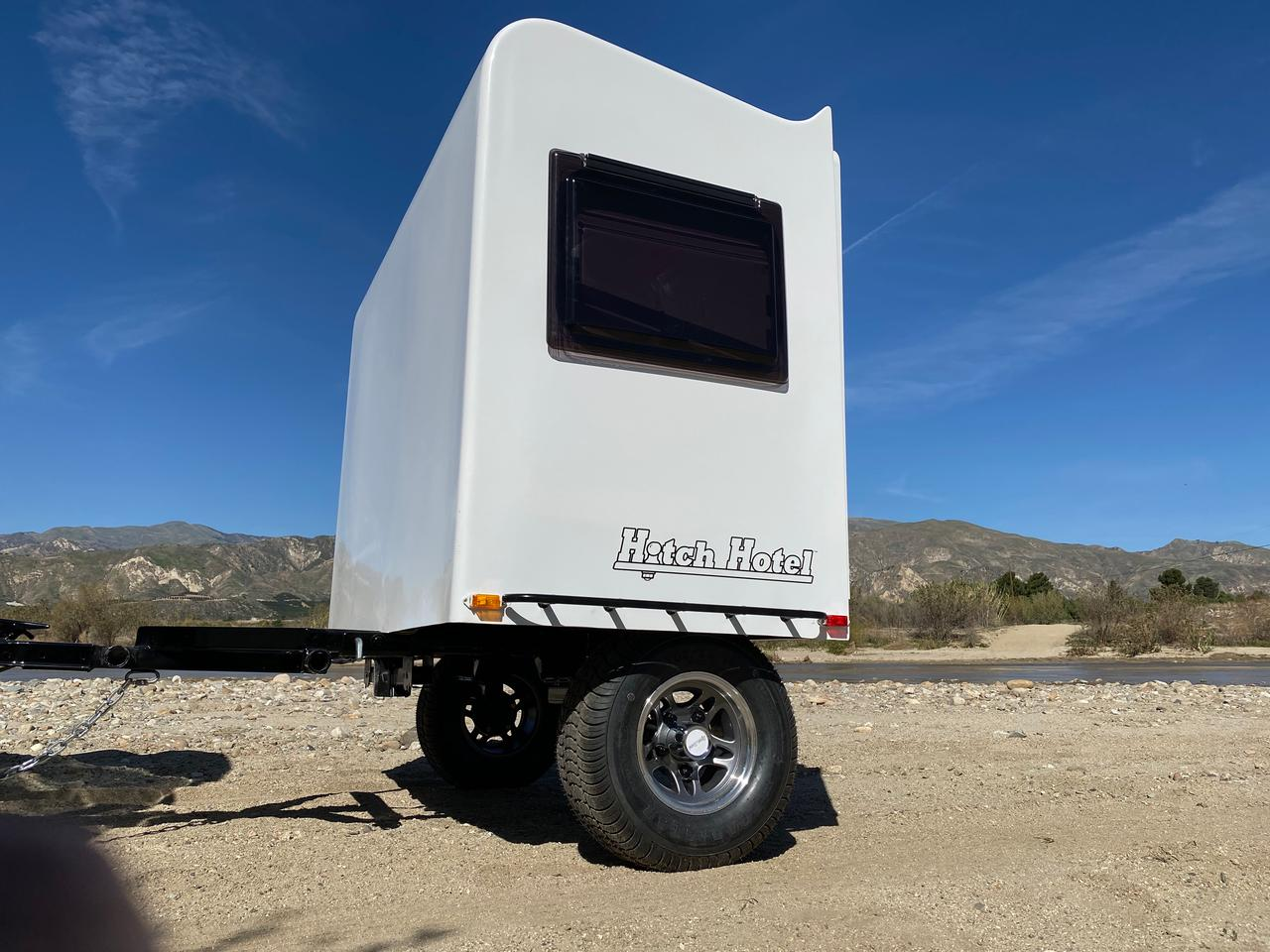 Hitch Hotel looks to accommodate a new style of car camper with the Traveler trailer