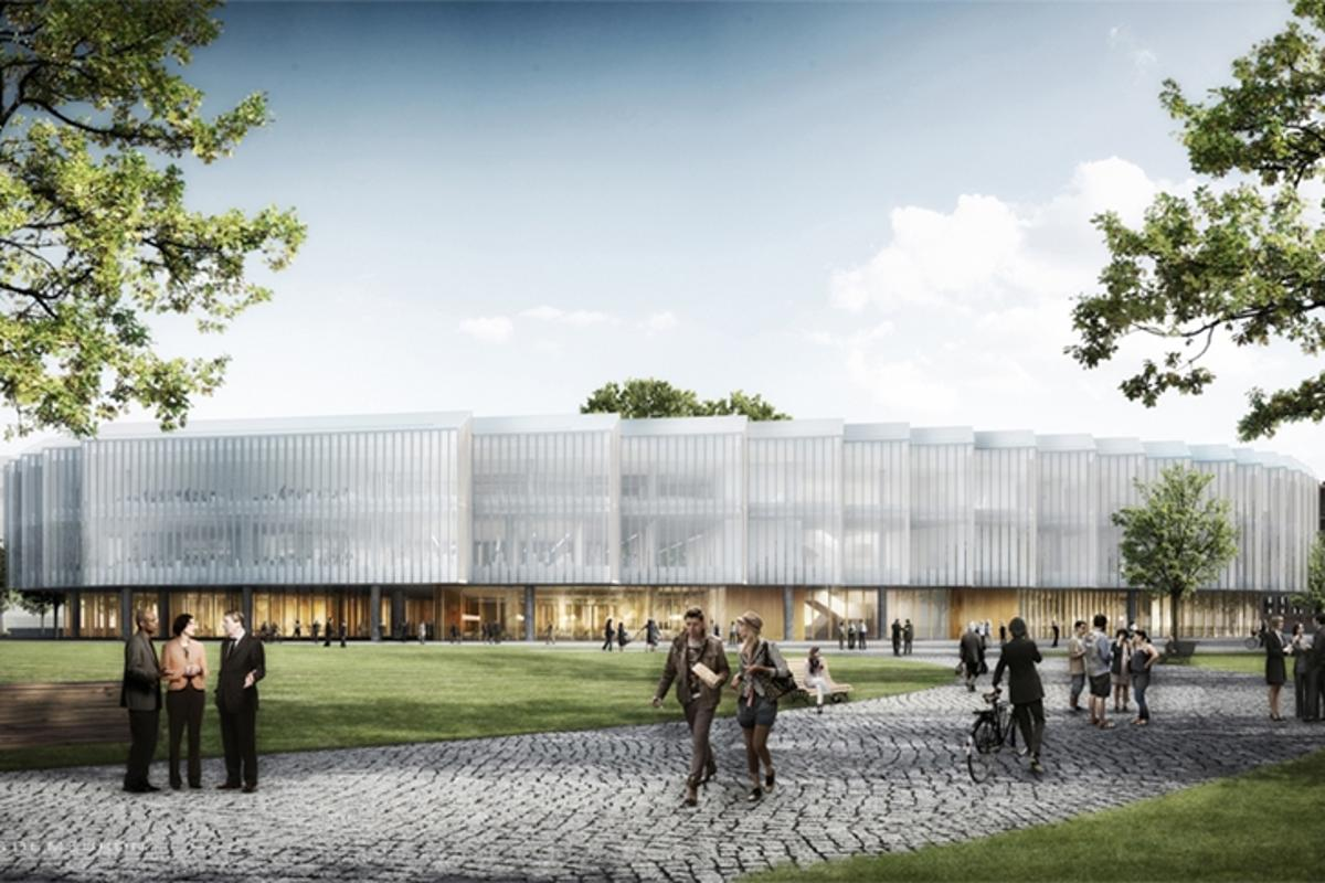 AstraZeneca has unveiled designs for its planned new HQ and R&D center in Cambridge, UK