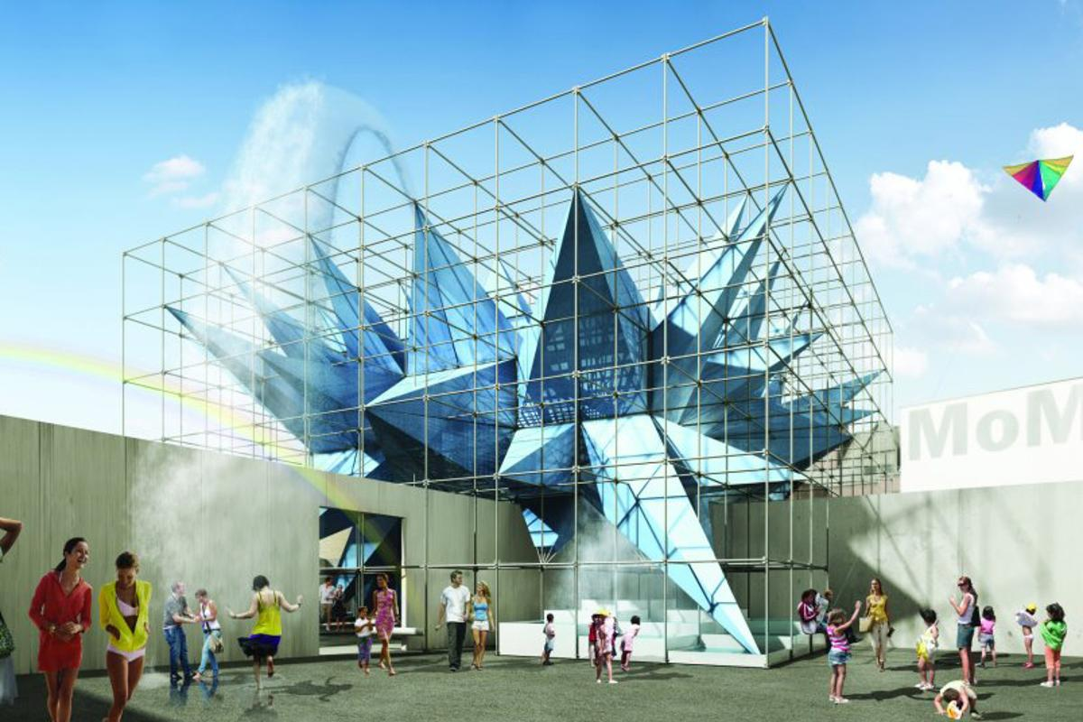 Wendy will rise above the courtyard at MoMA's PS1 in Queens, New York this summer
