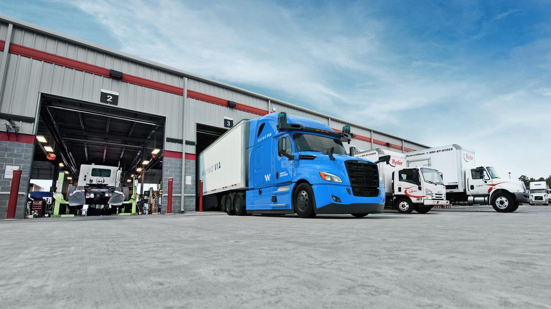 Waymo has begun work on a dedicated hub for self-driving trucks in Texas, US