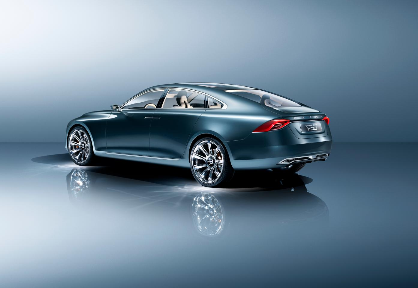 The coupe-like Volvo Concept You