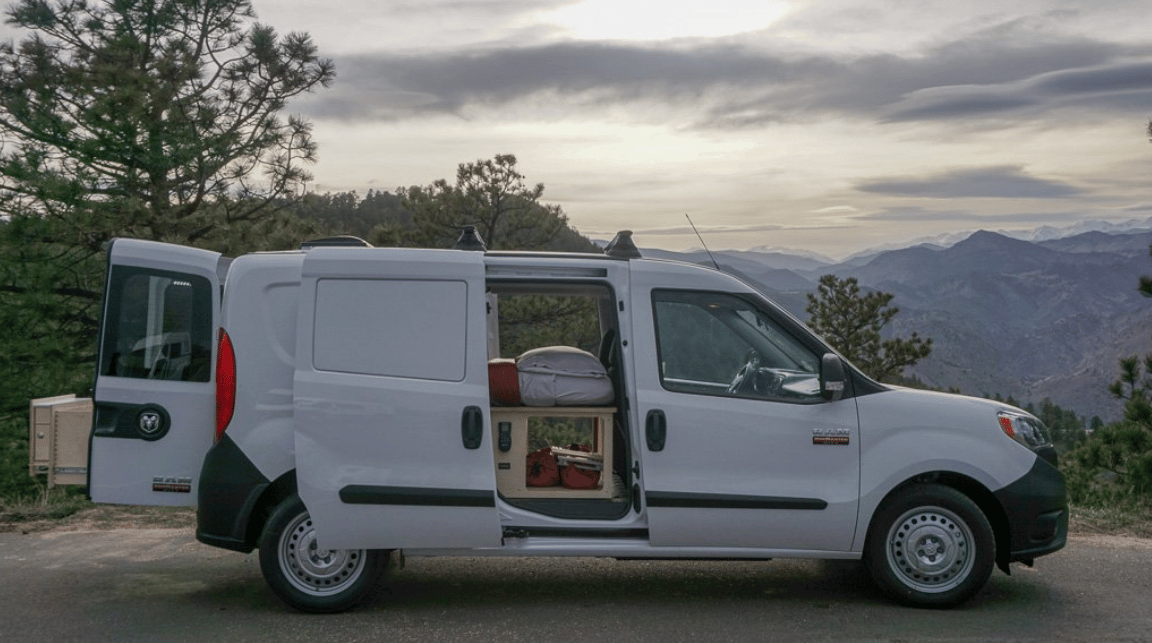 Contravans brings a plug-and-play camper kit to Ram Promaster City vans