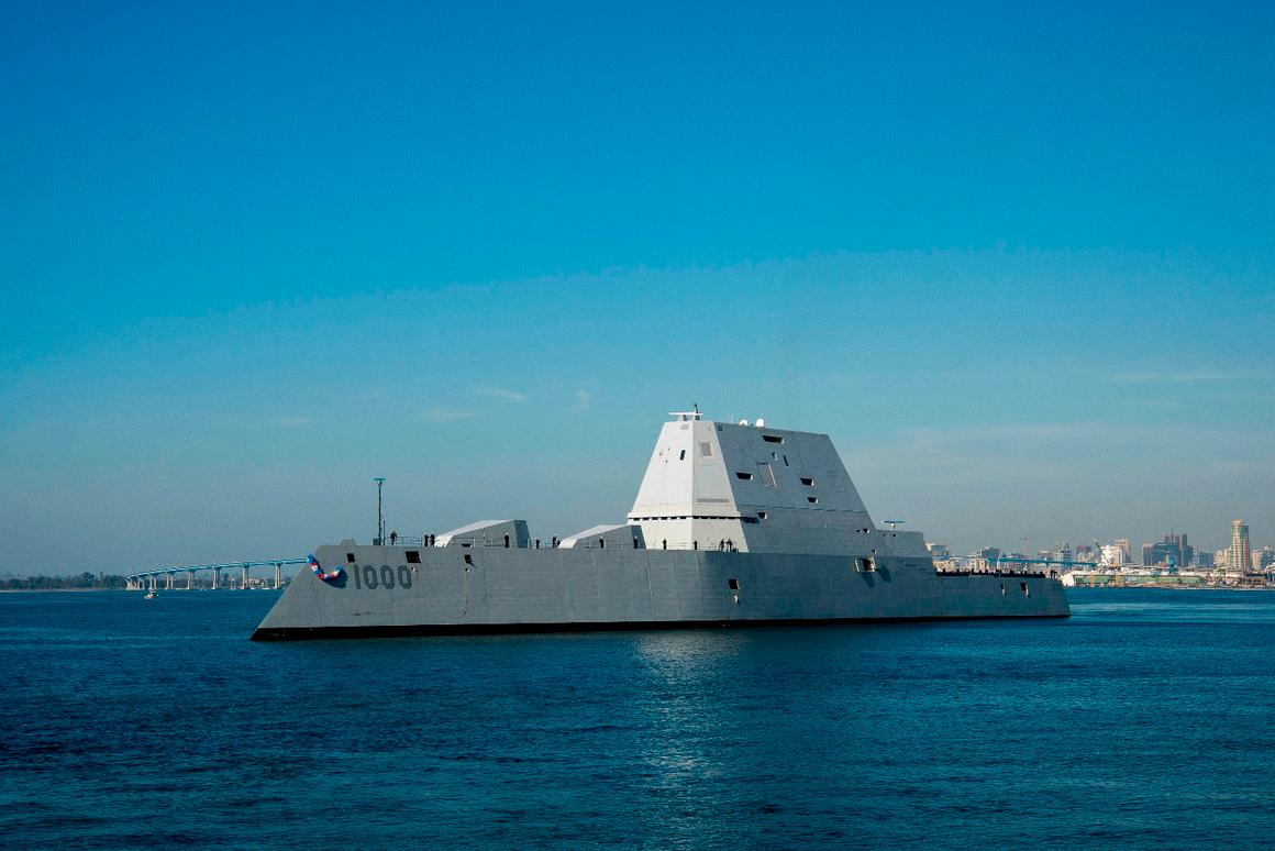 USS Zumwalt is the first in her class