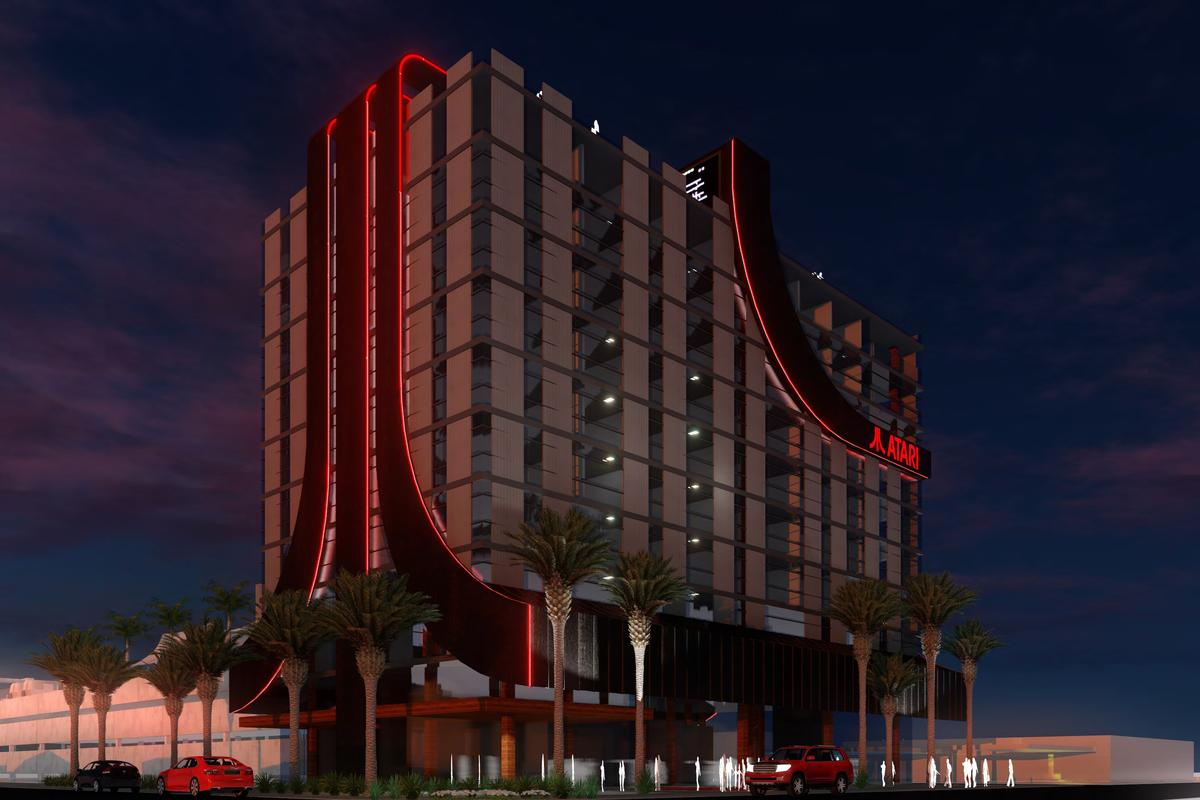 The first Atari Hotel is due to begin construction in mid-2020