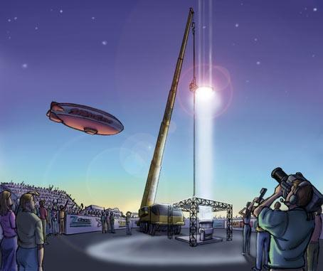 Space Elevator 2010(artist's impression)