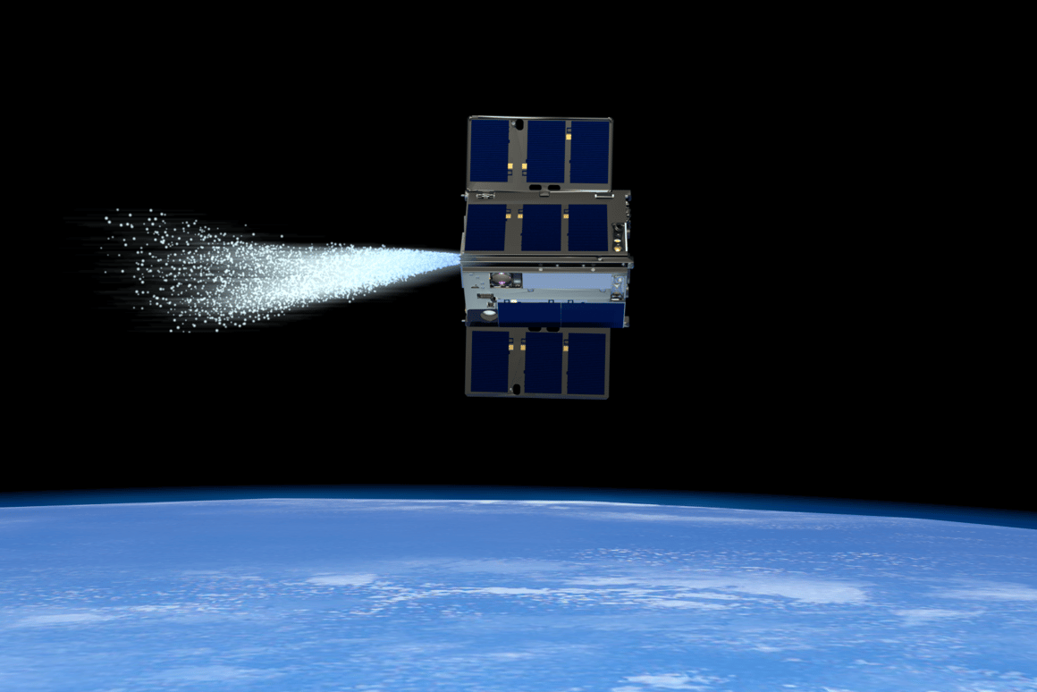 NASA's steam-propelled CubeSats control one another in space