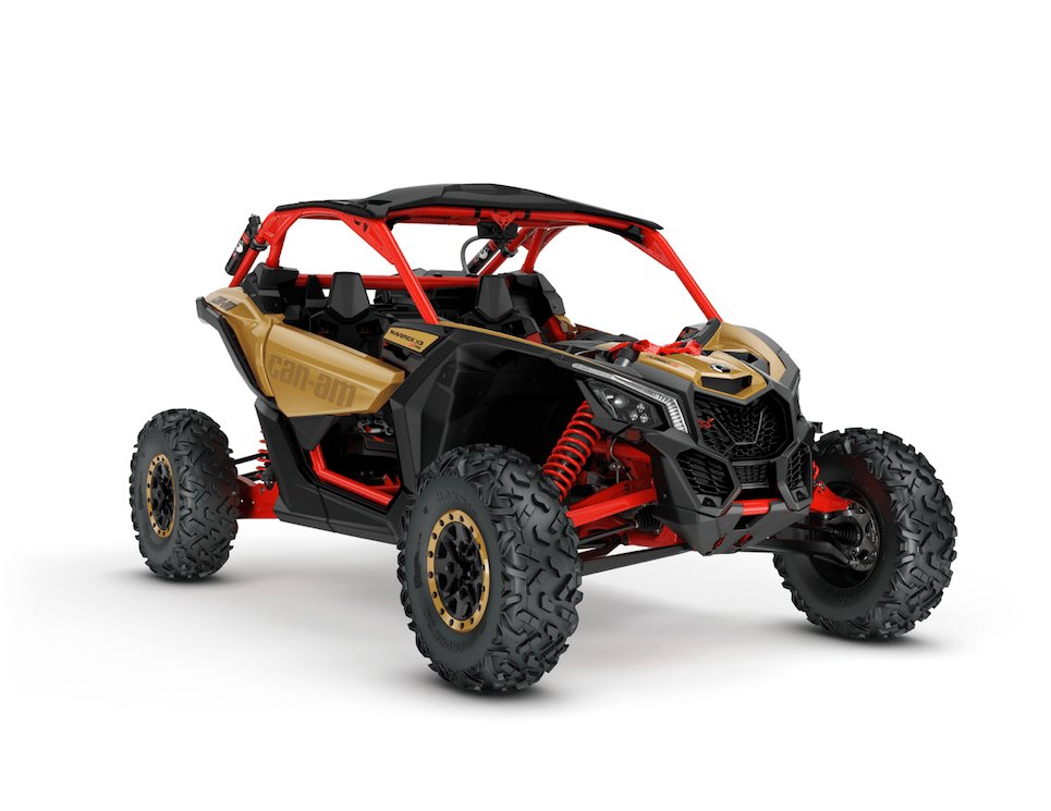The new Maverick X Turbo R is the most powerful side-by-side on the market