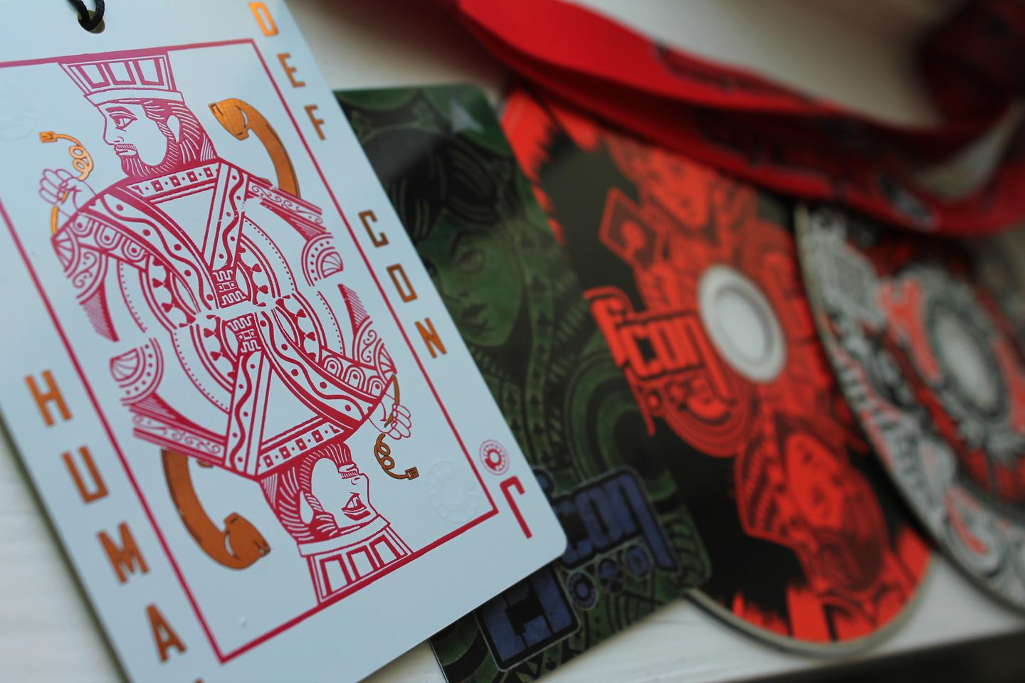 DefCon 21 swag: music, art, and competition are a part of the culture