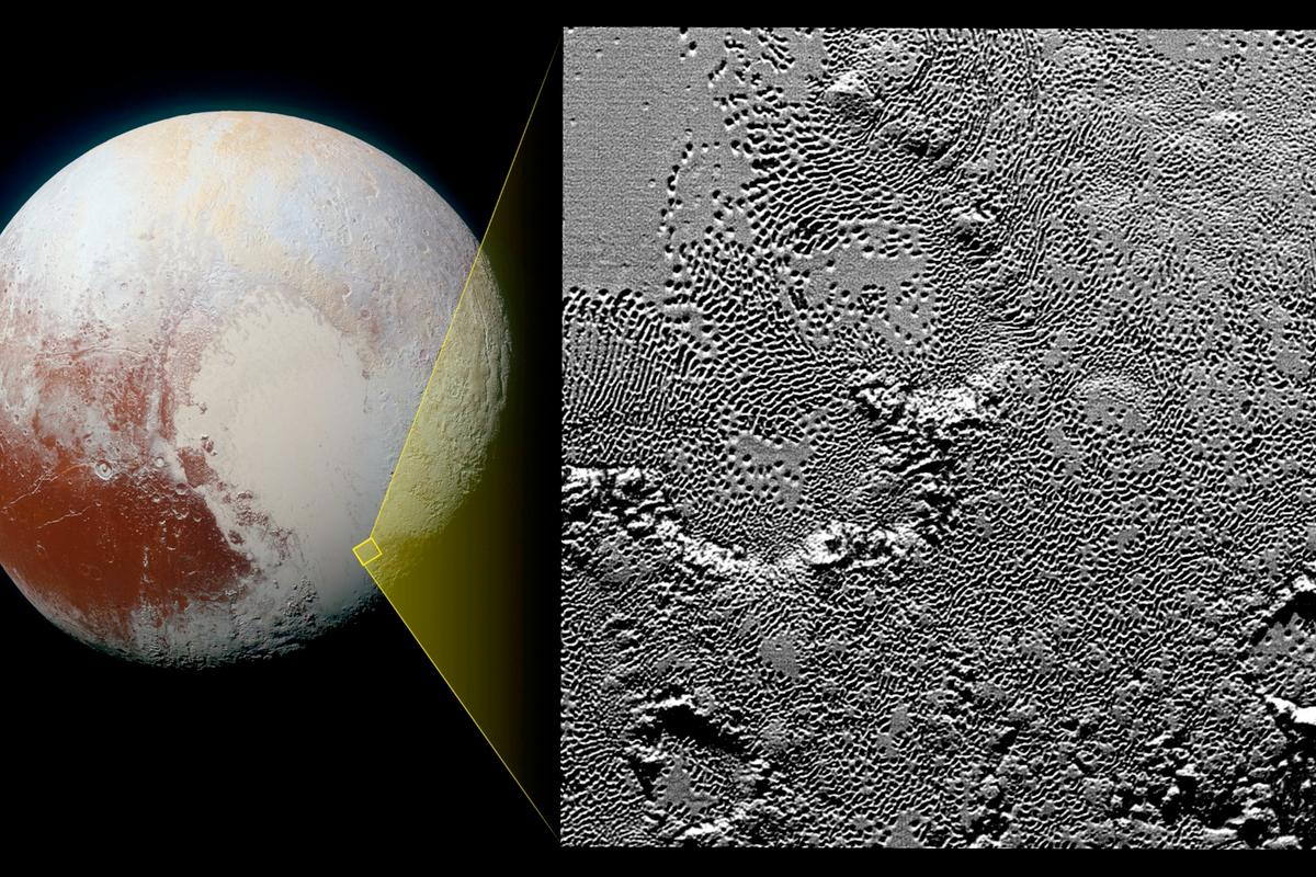 NASA's New Horizons spacecraft continues to relay ever-more detailed images of its July 24 flyby of the dwarf planet Pluto