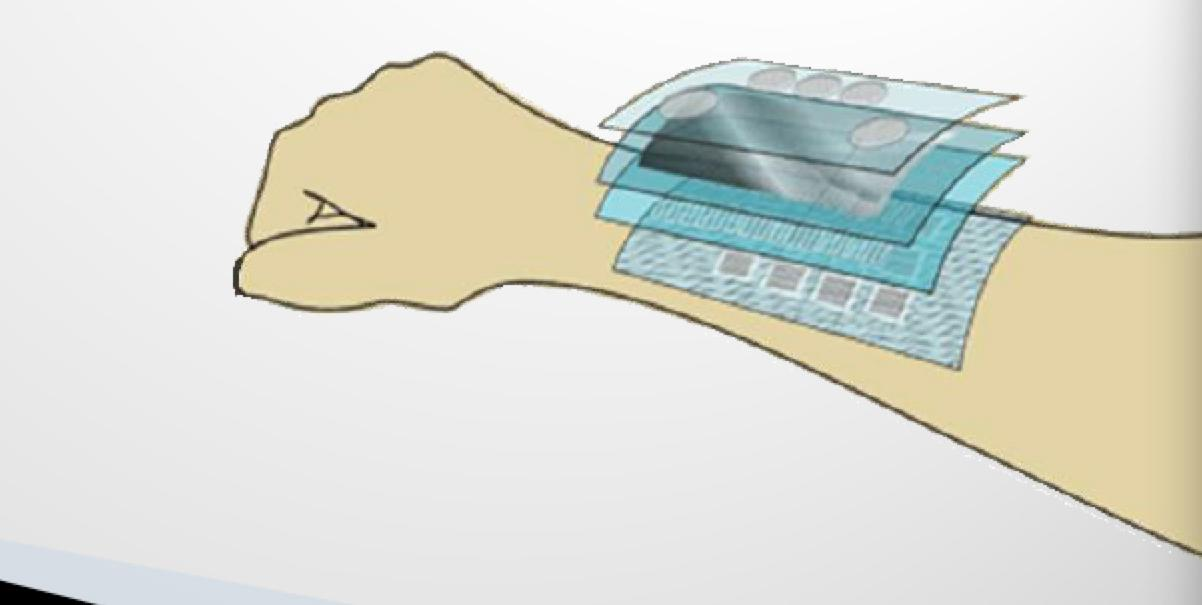 The sensor could be embedded in artificial skin for richer sensing (Image: Technion-Israel institute of Technology)