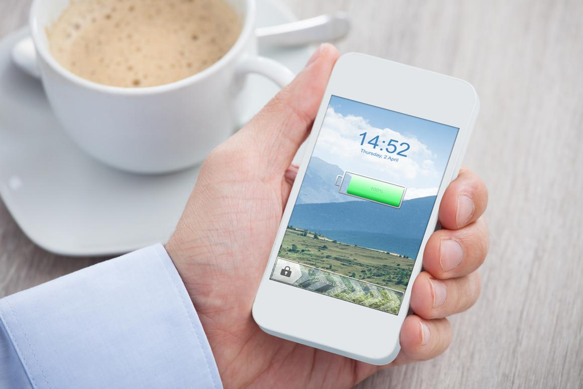 Drawing on their own radio signal, smartphones could get considerably longer battery life