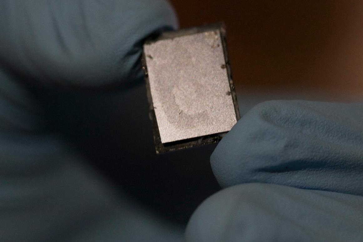 Structural supercapacitors could allow energy to be stored directly in structural materials, such as a phone's casing (Photo: Joe Howell / Vanderbilt)