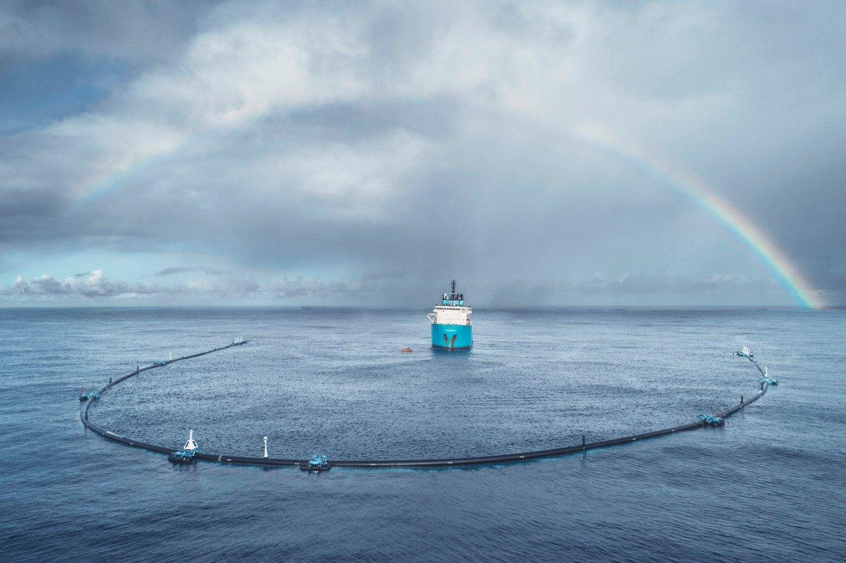 The Ocean Cleanup Project has installed its first system in the Great Pacific Garbage Patch