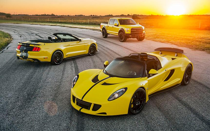 The updated Venom GT is part of a 2,875-hp SEMA barrage