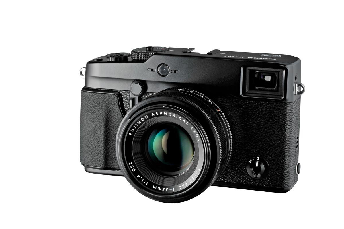 Fujifilm has added a new interchangeable lens member to its X-Series digital cameras - the X-Pro1 features a new sensor, an unconventional color filter array, a new lens mount and a hybrid viewfinder