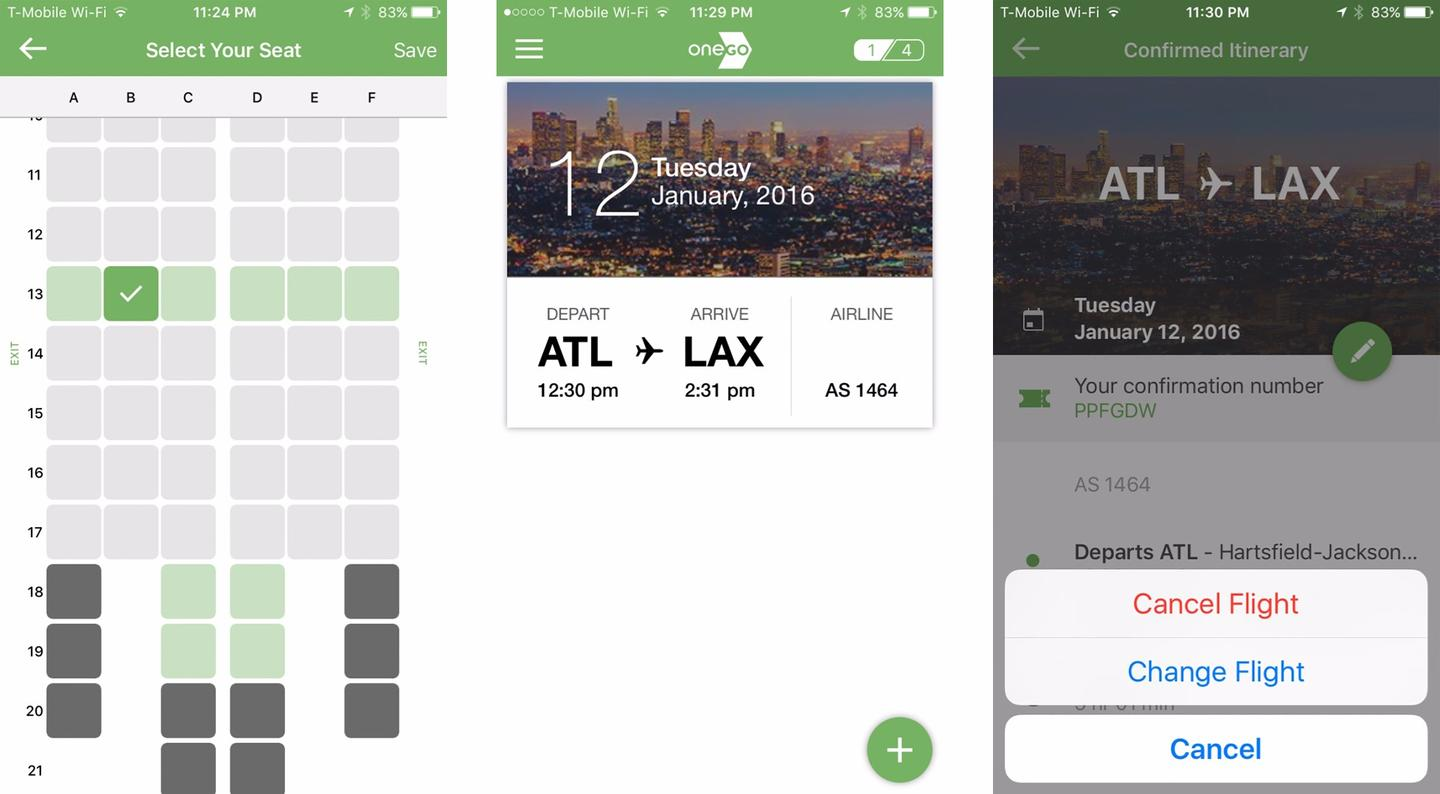 OneGo allows users to book direct domestic flights with major carriers on more than 500 routes in the US
