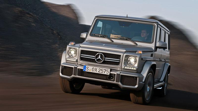 The 2012 Mercedes-Benz AMG G63