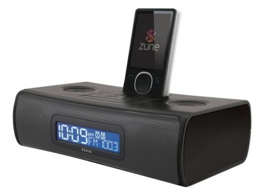 iHome's ZN9 Dual Alarm, Stereo Clock Radio