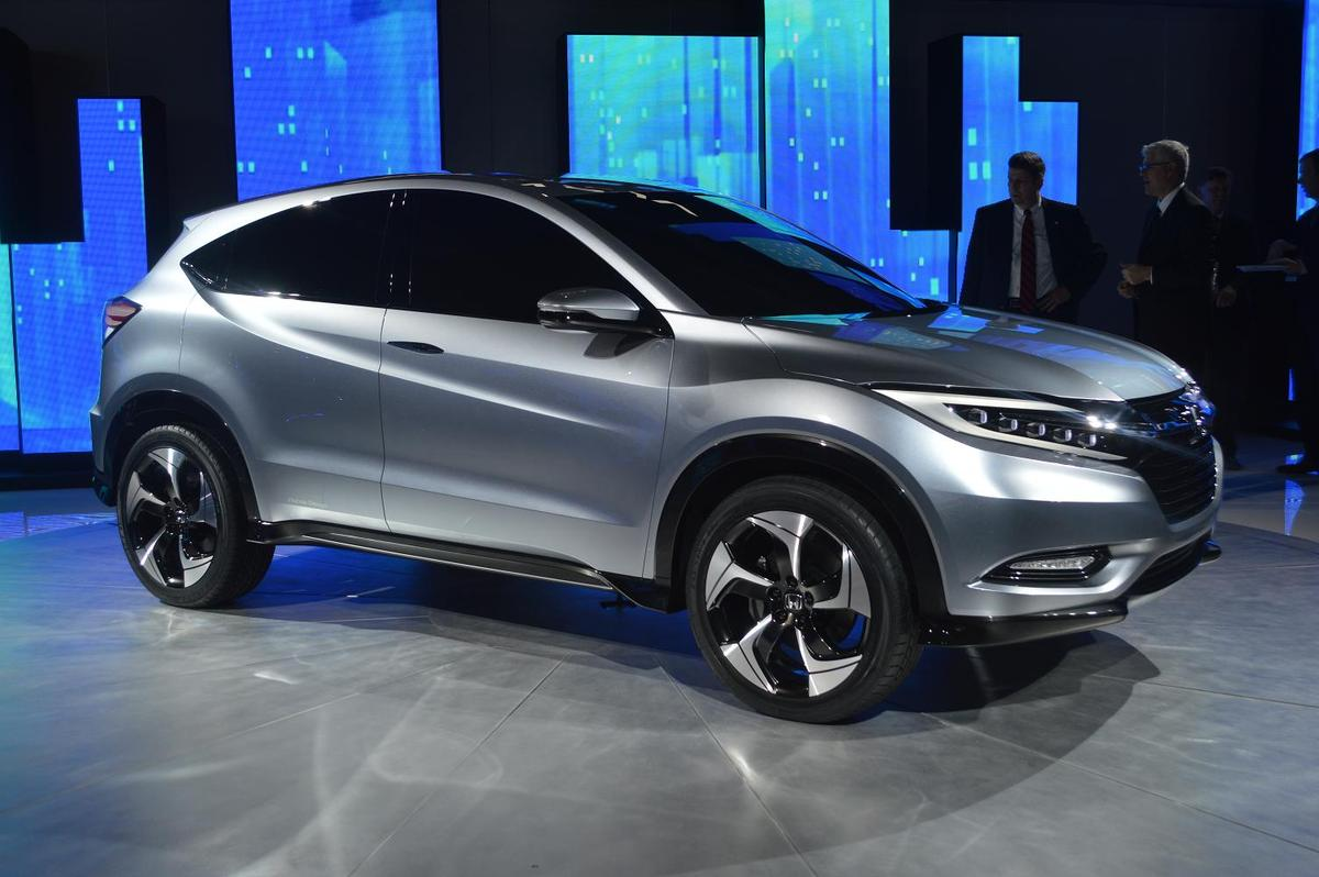 "Honda's ""Urban SUV Concept"" at the North American International Auto Show"