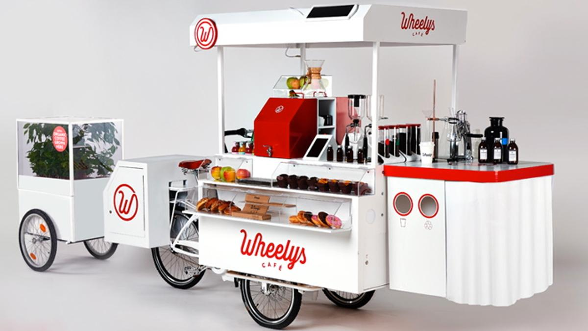 Wheelys 3, complete with its funny little trailer