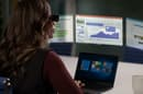 The Lenovo ThinkReality A3 projects up to five virtual displays in a user's field of view