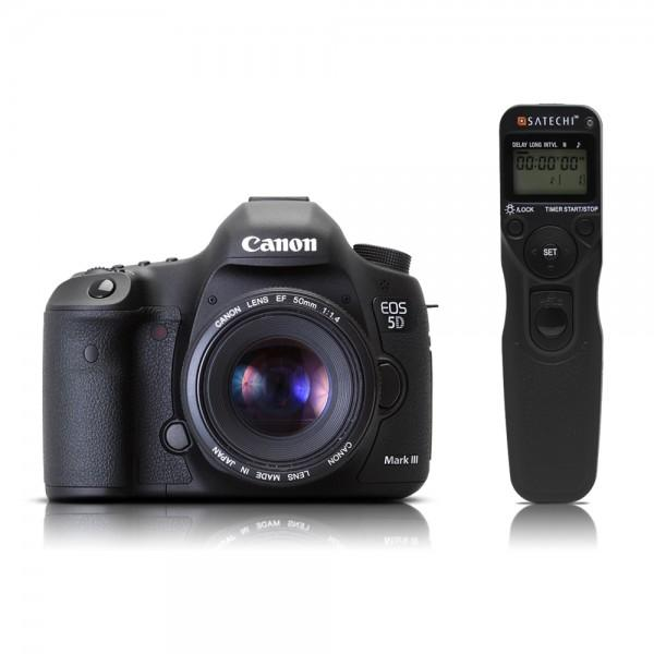 The Satechi WTR-A is compatible with the Canon EOS-1V/1VHS, EOS-3, EOS-D2000, D30, D60, 1D, 1Ds, EOS-1D Mark II,III,IV, EOS-1Ds Mark II,III, EOS-10D, 20D, 30D, 40D, 50D, 5D, 5D Mark II,III and the 7D.