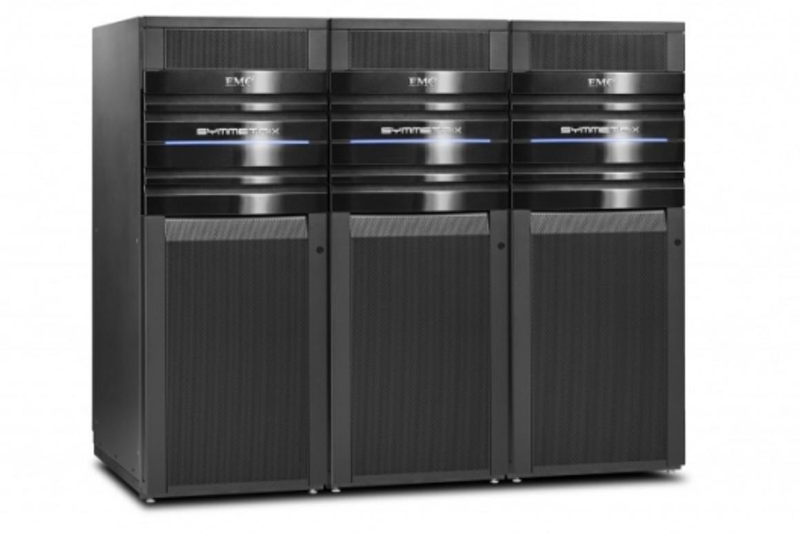 EMC Symmetrix V-Max triple-bay cabinet