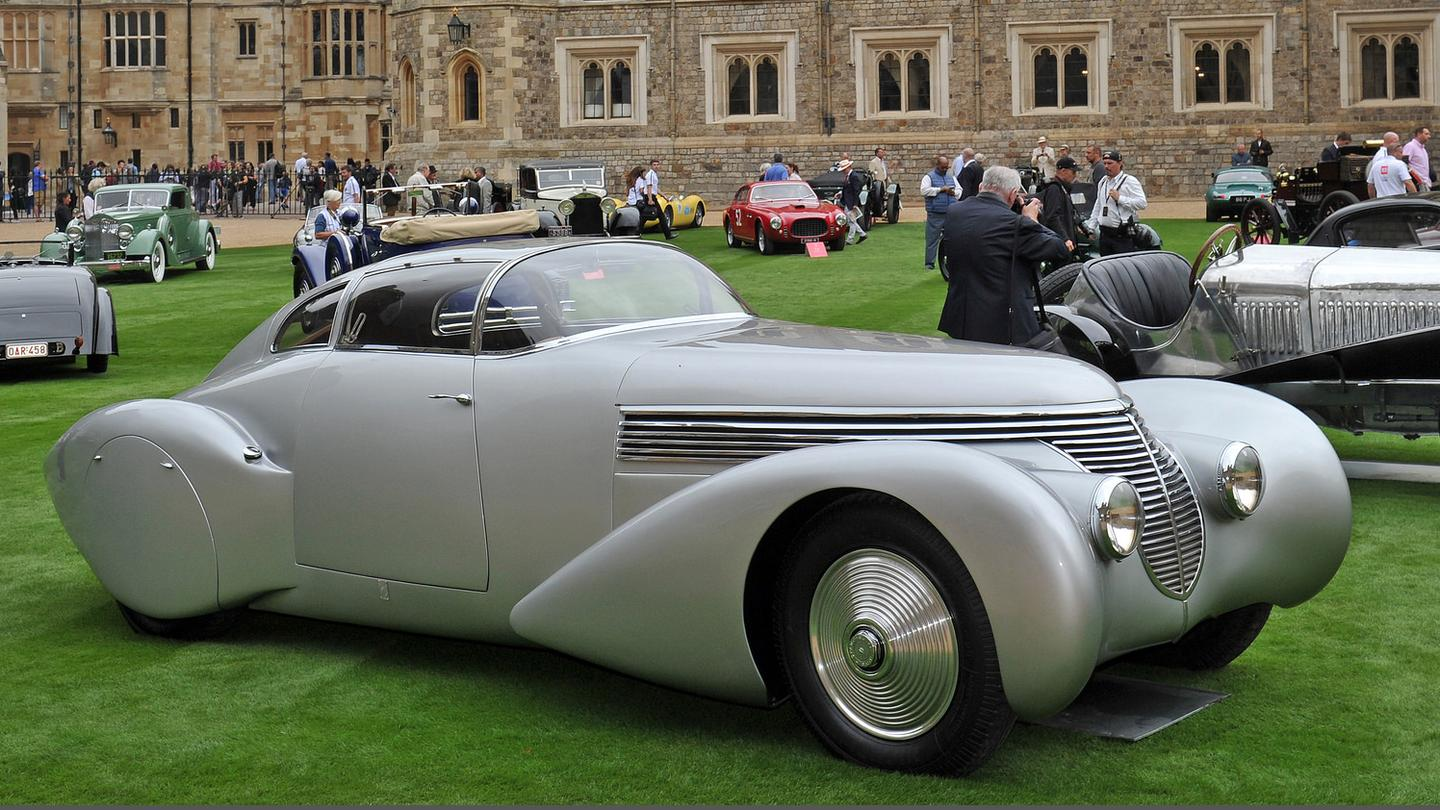 The winner of the 2016 Concours of Elegance (UK), this 1938 Dubonnet Xenia Coupé by Saoutchik was a finalist in the most prestigious award on the concours circuit.