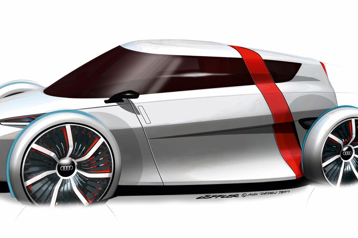 The Audi urban concept car expected to appear at the 2011 Frankfurt Motor Show