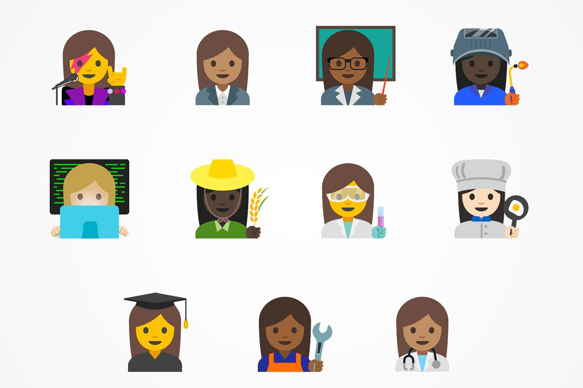 Android Nougat 7.1.1 rolls out more gender-inclusive GIFs