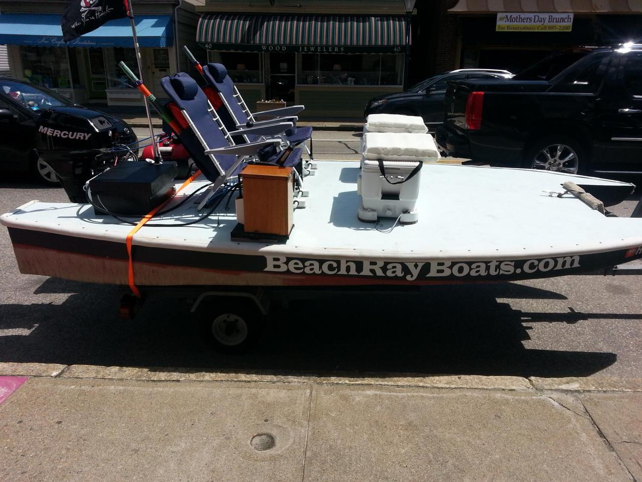 The BeachRay is designed to be towed by any vehicle