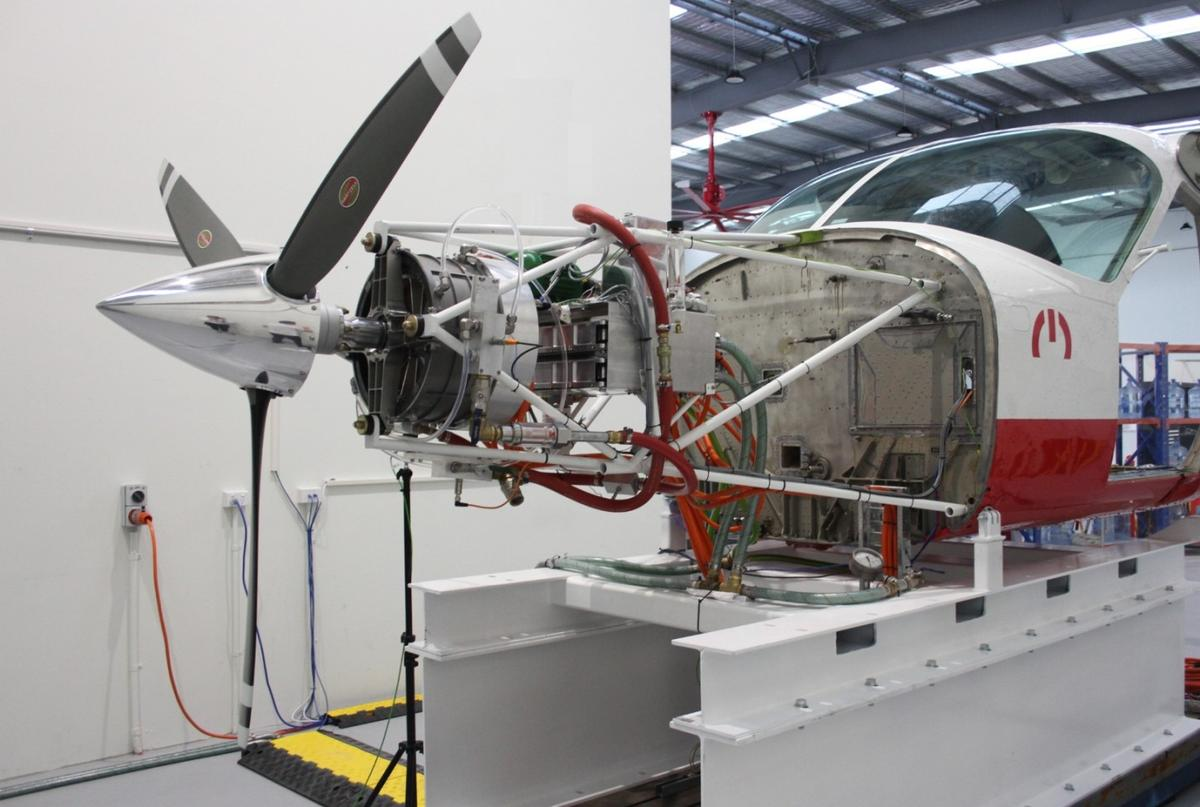 MagniX's magni500 motor is set to play a part in the future of electric aviation