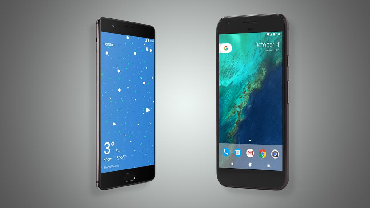 New Atlas compares the new OnePlus 3T to one of its most obvious rivals,the Google Pixel XL