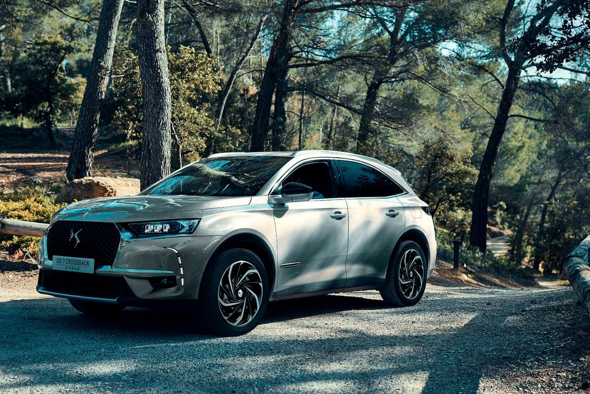 Custom wheels and a quieter powertrain will set the DS7 Crossback E-Tense apart from others in the field