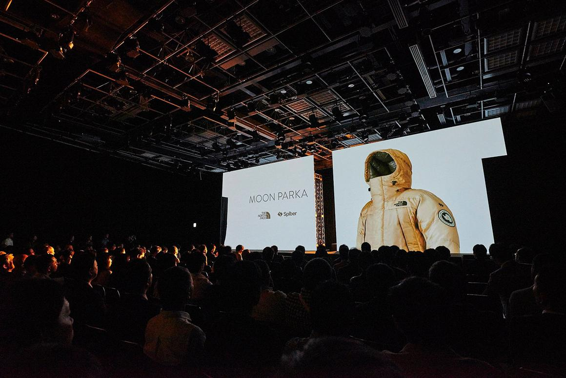 The Moon Parka being announced in Japan