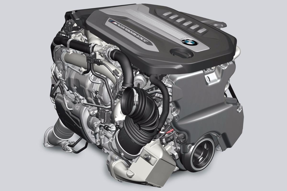 BMW has fitted four turbochargers to its latest diesel engine