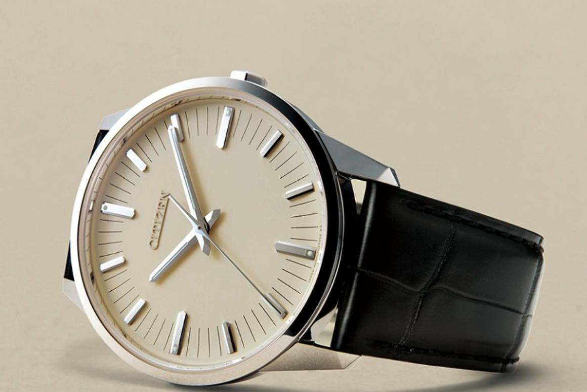 TheCitizen Caliber 0100is billed at the most accurate watch on the market