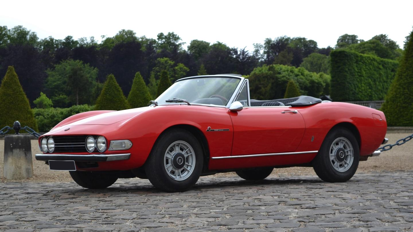 This 1972 Fiat Dino 2400 Spider sold for €188,300 ($214,292), setting a record for the model.