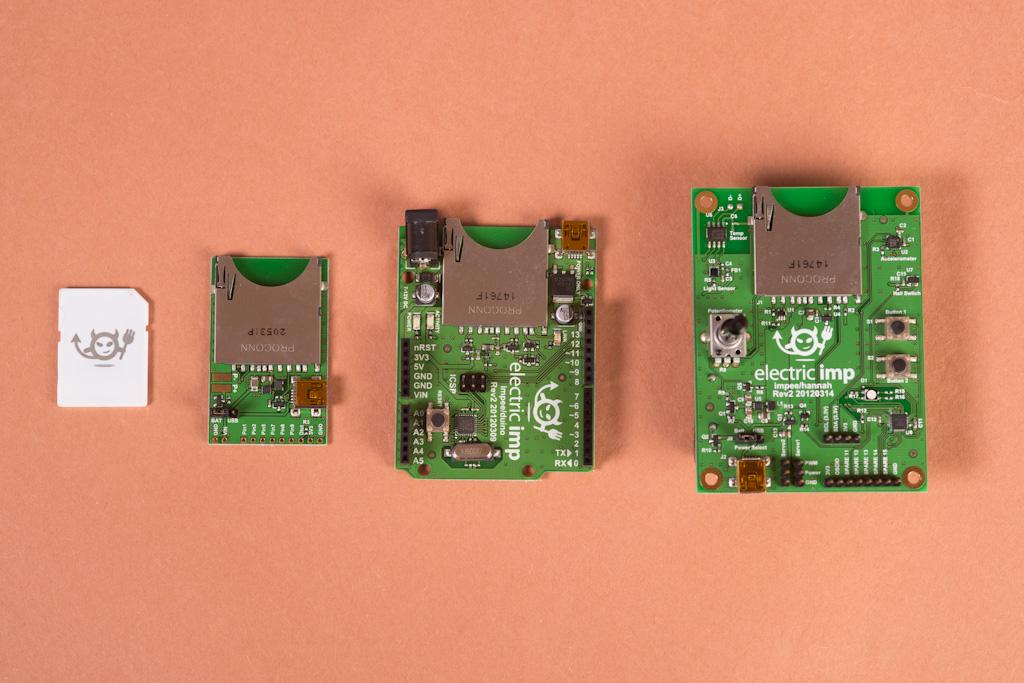 The Imp board family from which developers can prototype their ideas
