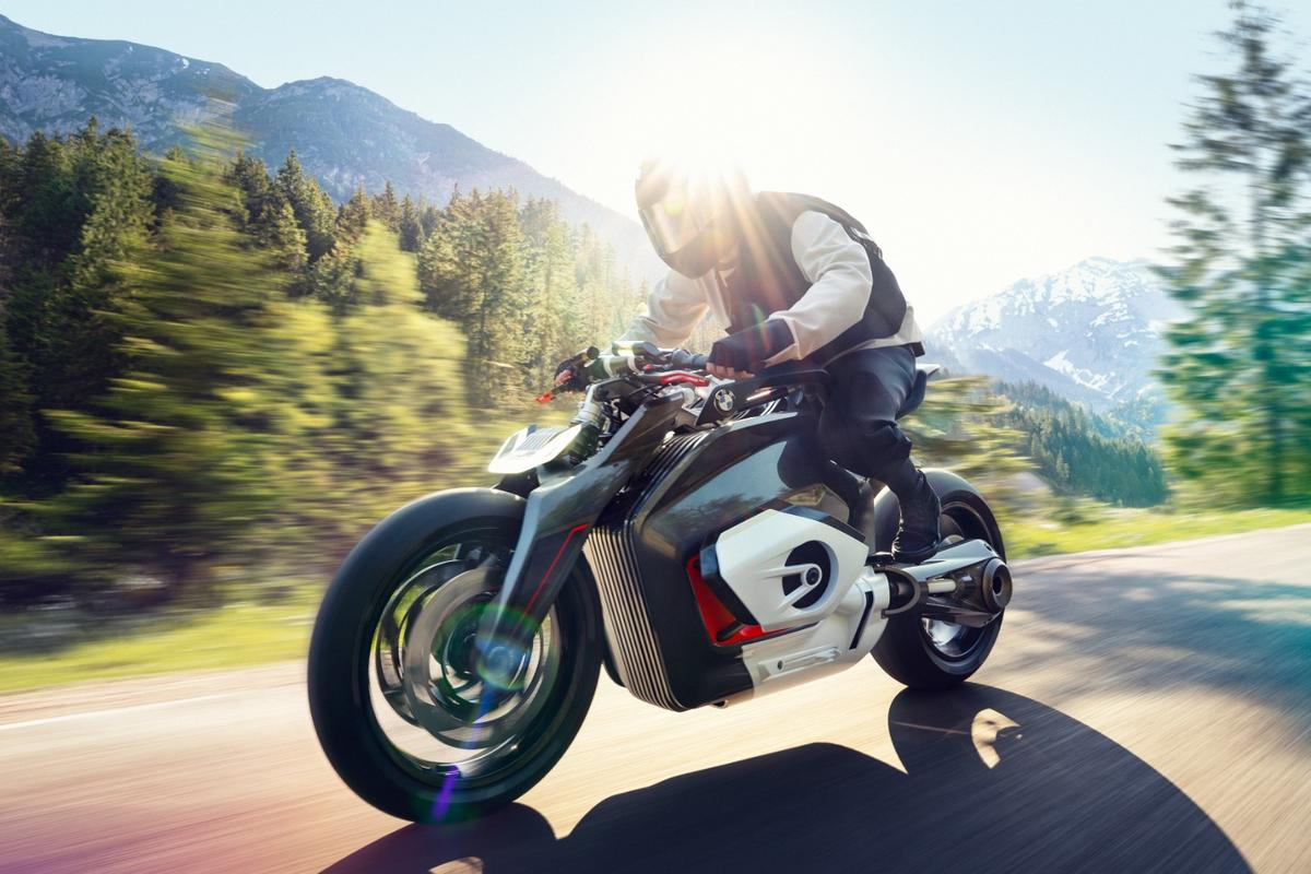 BMW's Vision DC Roadster: A vision of electric motorcycling that's shamelessly futuristic and daring