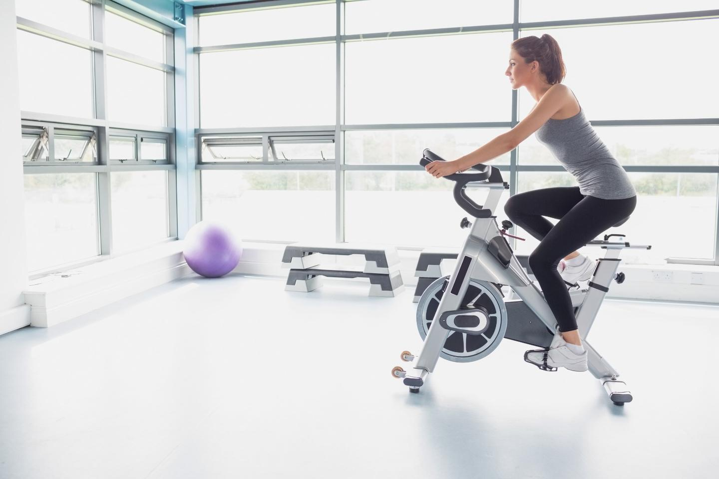 Sessions on an exercise bike helped to relieve women of depression – but particularly when the pace was assigned to them by another person