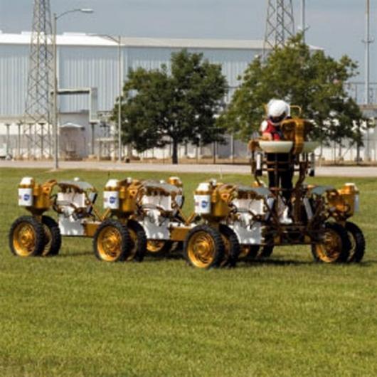 NASA Lunar truck prototype Photo Credit: NASA