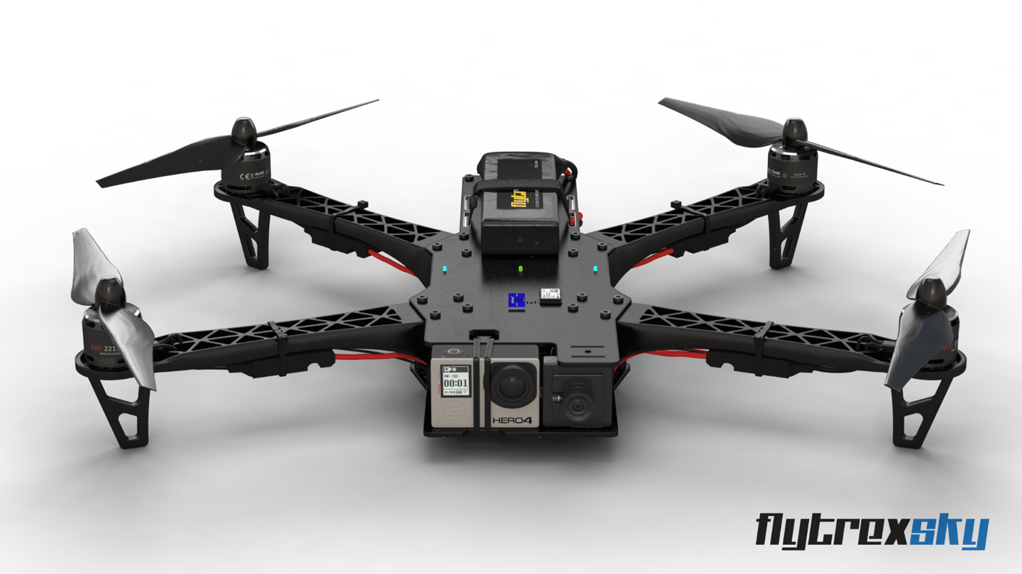 The Flytrex Sky is GoPro-ready