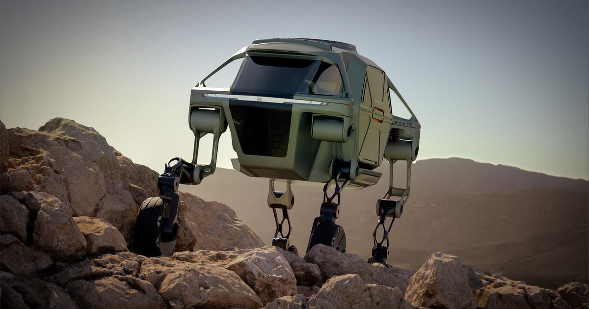 Hyundai gets serious about unstoppable, four-legged 4x4 robo-cars