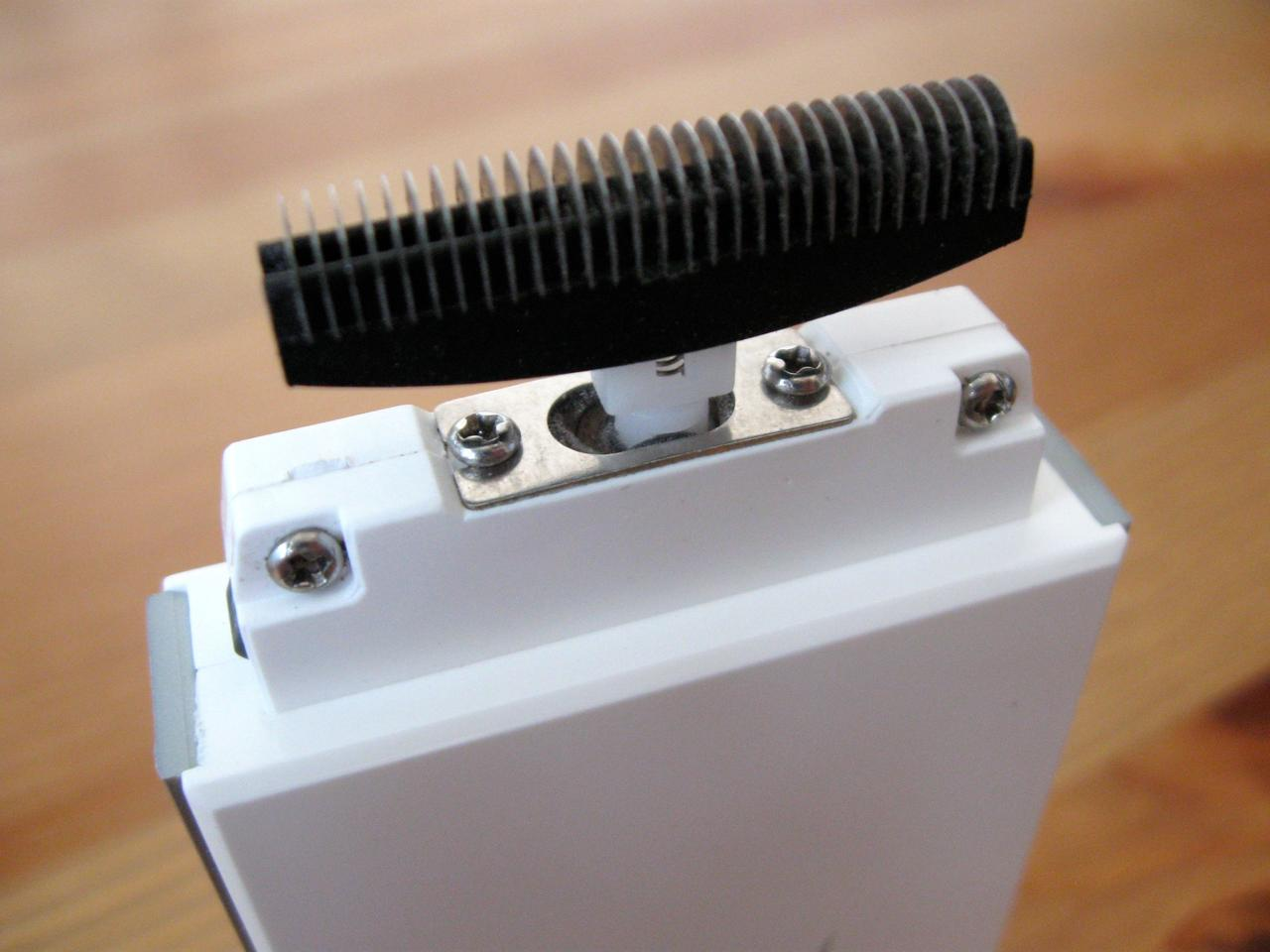 The ShaveTech's replaceable inner blades
