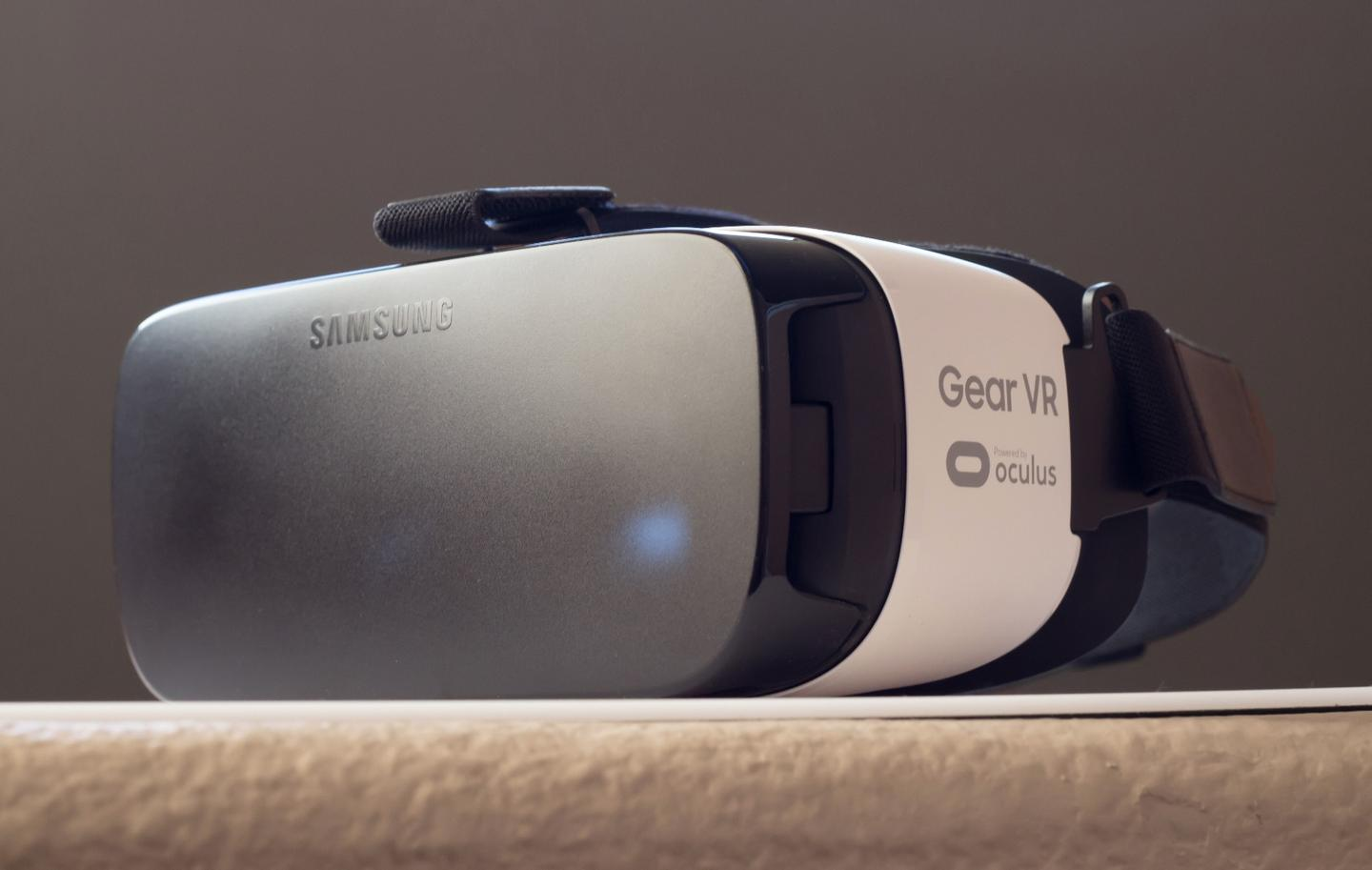 If Google is working on a standalone VR headset, it may not be much different from smartphone-based headsets like the Gear VR (pictured)