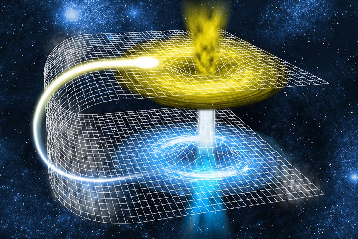 Quantum black hole study finds bridge to another Universe (Image: Shutterstock)
