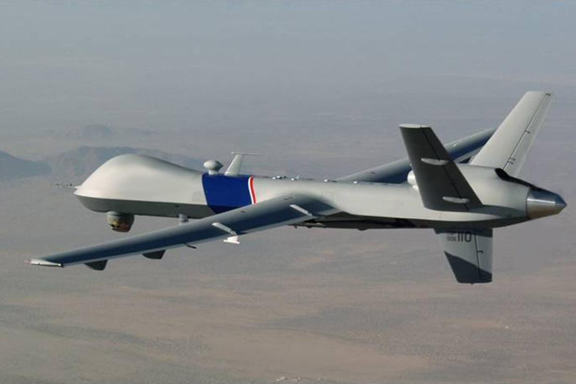 The Predator B ER is an advanced derivative of the Predator B shown here (Photo: General Atomics)