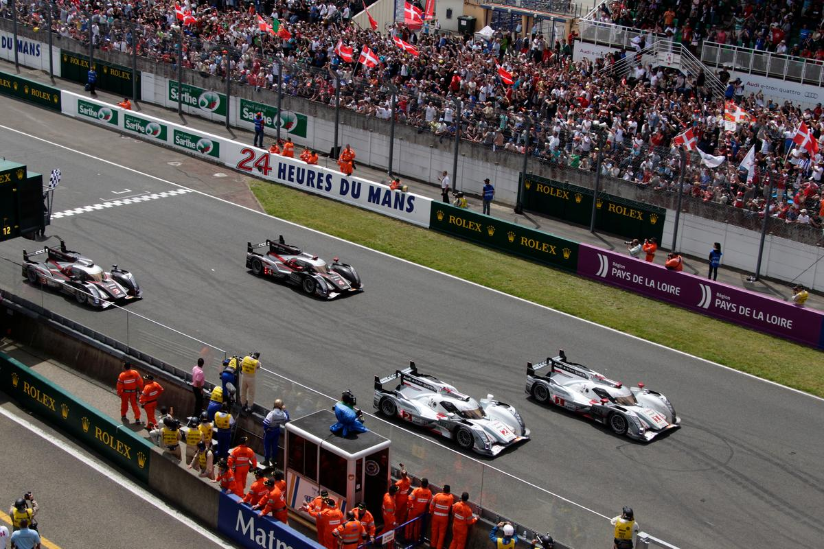 Audi takes Le Mans 1-2 with R18 e-tron quattro hybrids