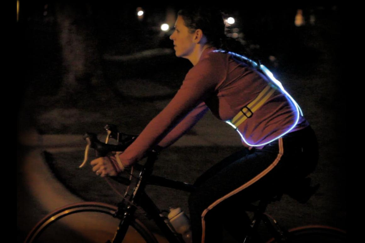 Noxgear has raised funds on KickStarter to launch its Touch and Tracer360 vests for nocturnal outdoor sports training